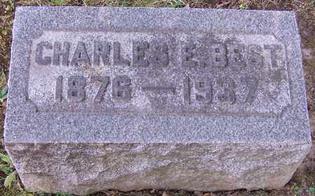 BEST, CHARLES E. - Stark County, Ohio | CHARLES E. BEST - Ohio Gravestone Photos