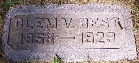 BEST, CLEM V. - Stark County, Ohio | CLEM V. BEST - Ohio Gravestone Photos