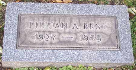 BEST, LILLIAN A. - Stark County, Ohio | LILLIAN A. BEST - Ohio Gravestone Photos