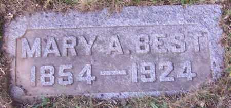 BEST, MARY A. - Stark County, Ohio   MARY A. BEST - Ohio Gravestone Photos