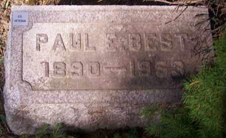 BEST, PAUL E. - Stark County, Ohio | PAUL E. BEST - Ohio Gravestone Photos