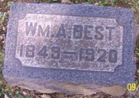 BEST, WM.A. - Stark County, Ohio | WM.A. BEST - Ohio Gravestone Photos