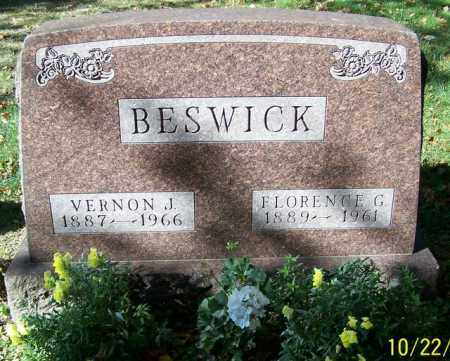 BESWICK, FLORENCE G. - Stark County, Ohio | FLORENCE G. BESWICK - Ohio Gravestone Photos