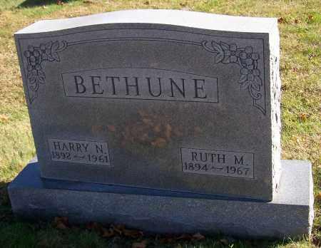 BETHUNE, HARRY N. - Stark County, Ohio | HARRY N. BETHUNE - Ohio Gravestone Photos