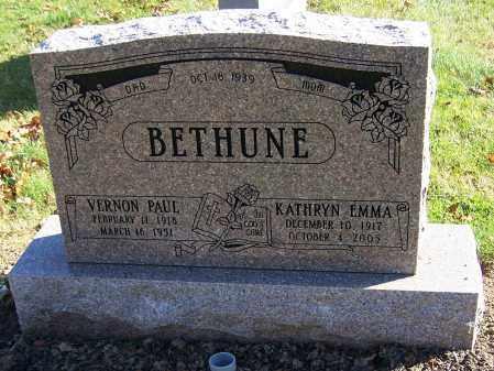 BETHUNE, KATHRYN EMMA - Stark County, Ohio | KATHRYN EMMA BETHUNE - Ohio Gravestone Photos