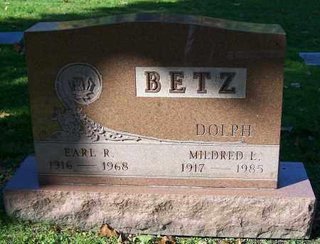 BETZ, MILDRED L. - Stark County, Ohio | MILDRED L. BETZ - Ohio Gravestone Photos