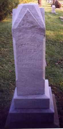 BETZ, GEORGE H. - Stark County, Ohio   GEORGE H. BETZ - Ohio Gravestone Photos