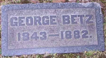 BETZ, GEORGE - Stark County, Ohio | GEORGE BETZ - Ohio Gravestone Photos