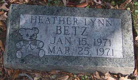 BETZ, HEATHER LYNN - Stark County, Ohio   HEATHER LYNN BETZ - Ohio Gravestone Photos