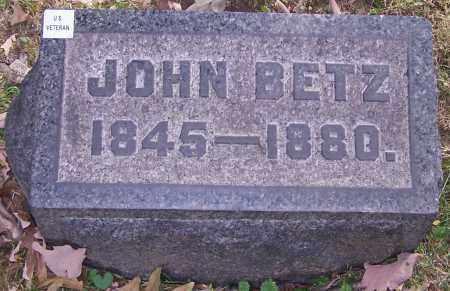 BETZ, JOHN - Stark County, Ohio | JOHN BETZ - Ohio Gravestone Photos