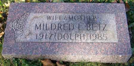 DOLPH BETZ, MILDRED L. - Stark County, Ohio | MILDRED L. DOLPH BETZ - Ohio Gravestone Photos