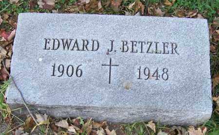 BETZLER, EDWARD J. - Stark County, Ohio | EDWARD J. BETZLER - Ohio Gravestone Photos