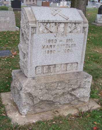 BETZLER, MARY - Stark County, Ohio | MARY BETZLER - Ohio Gravestone Photos