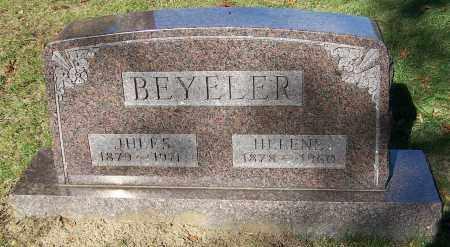 BEYELER, HELENE - Stark County, Ohio | HELENE BEYELER - Ohio Gravestone Photos