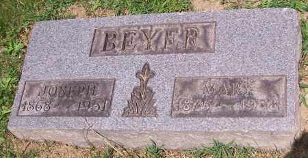 BEYER, JOSEPH - Stark County, Ohio | JOSEPH BEYER - Ohio Gravestone Photos