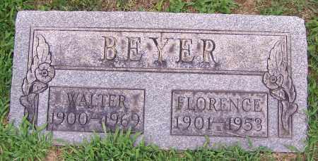 BEYER, WALTER H. - Stark County, Ohio | WALTER H. BEYER - Ohio Gravestone Photos
