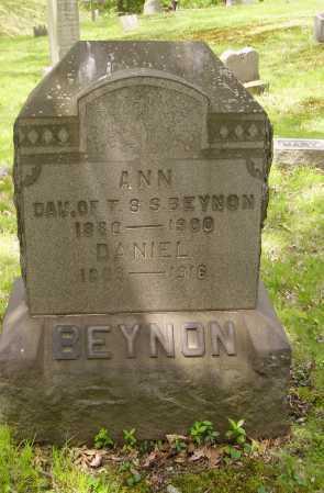 BEYNON, ANN - Stark County, Ohio | ANN BEYNON - Ohio Gravestone Photos