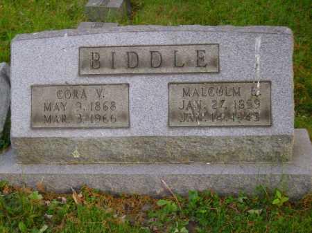 BIDDLE, CORA V. - Stark County, Ohio | CORA V. BIDDLE - Ohio Gravestone Photos