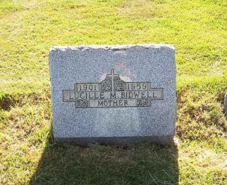 BIDWELL, LUCILLE M. - Stark County, Ohio | LUCILLE M. BIDWELL - Ohio Gravestone Photos