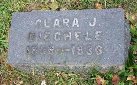 BIECHELE, CLARA J. - Stark County, Ohio | CLARA J. BIECHELE - Ohio Gravestone Photos