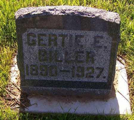 BILLER, GERTIE E. - Stark County, Ohio | GERTIE E. BILLER - Ohio Gravestone Photos