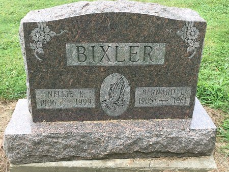 BIXLER, NELLIE E. - Stark County, Ohio | NELLIE E. BIXLER - Ohio Gravestone Photos