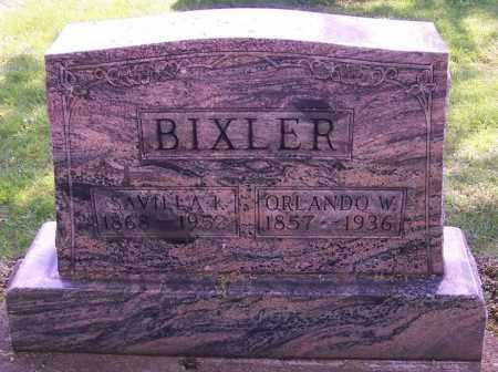 BIXLER, ORLANDO W. - Stark County, Ohio | ORLANDO W. BIXLER - Ohio Gravestone Photos