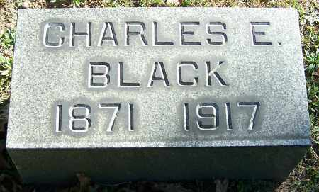 BLACK, CHARLES E. - Stark County, Ohio | CHARLES E. BLACK - Ohio Gravestone Photos