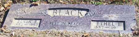 BLACK, ETHEL I. - Stark County, Ohio | ETHEL I. BLACK - Ohio Gravestone Photos