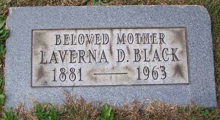 BLACK, LAVERNA D. - Stark County, Ohio   LAVERNA D. BLACK - Ohio Gravestone Photos