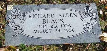 BLACK, RICHARD ALDEN - Stark County, Ohio | RICHARD ALDEN BLACK - Ohio Gravestone Photos