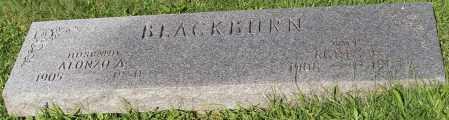 BLACKBURN, ALONZO A. - Stark County, Ohio   ALONZO A. BLACKBURN - Ohio Gravestone Photos