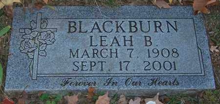 BLACKBURN, LEAH B. - Stark County, Ohio | LEAH B. BLACKBURN - Ohio Gravestone Photos