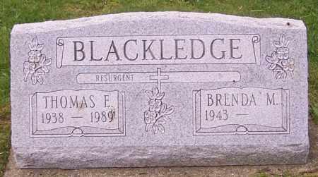 BLACKLEDGE, BRENDA M. - Stark County, Ohio   BRENDA M. BLACKLEDGE - Ohio Gravestone Photos