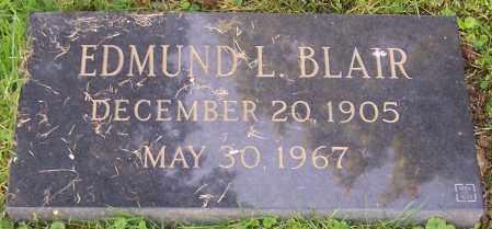 BLAIR, EDMUND L. - Stark County, Ohio | EDMUND L. BLAIR - Ohio Gravestone Photos