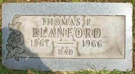 BLANFORD, THOMAS R. - Stark County, Ohio | THOMAS R. BLANFORD - Ohio Gravestone Photos