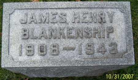 BLANKENSHIP, JAMES HENRY - Stark County, Ohio | JAMES HENRY BLANKENSHIP - Ohio Gravestone Photos