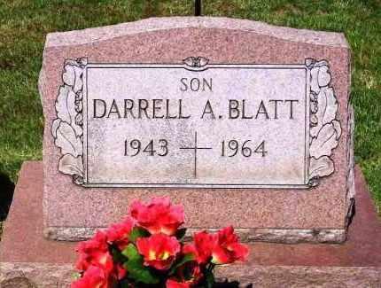 BLATT, DARRELL A. - Stark County, Ohio   DARRELL A. BLATT - Ohio Gravestone Photos