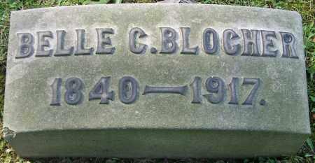 BLOCHER, BELLE C. - Stark County, Ohio   BELLE C. BLOCHER - Ohio Gravestone Photos