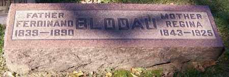 BLODAU, FERDINAND - Stark County, Ohio   FERDINAND BLODAU - Ohio Gravestone Photos