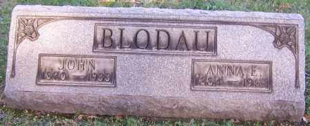 BLODAU, JOHN - Stark County, Ohio   JOHN BLODAU - Ohio Gravestone Photos