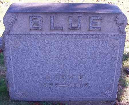 BLUE, MARY E. - Stark County, Ohio   MARY E. BLUE - Ohio Gravestone Photos