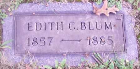 BLUM, EDITH C. - Stark County, Ohio | EDITH C. BLUM - Ohio Gravestone Photos