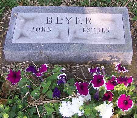 BLYER, JOHN - Stark County, Ohio | JOHN BLYER - Ohio Gravestone Photos