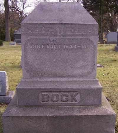 BOCK, JOHN F. - Stark County, Ohio | JOHN F. BOCK - Ohio Gravestone Photos