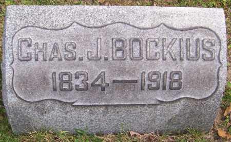 BOCKIUS, CHAS J. - Stark County, Ohio | CHAS J. BOCKIUS - Ohio Gravestone Photos