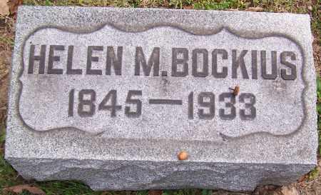 BOCKIUS, HELEN M. - Stark County, Ohio | HELEN M. BOCKIUS - Ohio Gravestone Photos