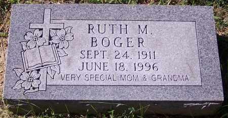 BOGER, RUTH M. - Stark County, Ohio | RUTH M. BOGER - Ohio Gravestone Photos