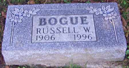 BOGUE, RUSSELL W. - Stark County, Ohio | RUSSELL W. BOGUE - Ohio Gravestone Photos