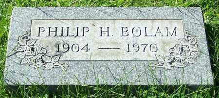 BOLAM, PHILIP H. - Stark County, Ohio | PHILIP H. BOLAM - Ohio Gravestone Photos